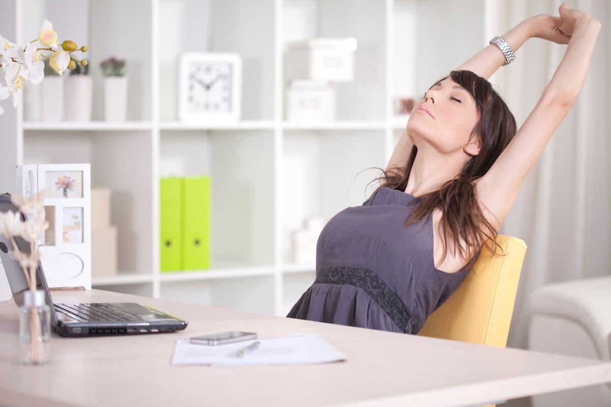 Masa başı çalışanlarına özel egzersizler