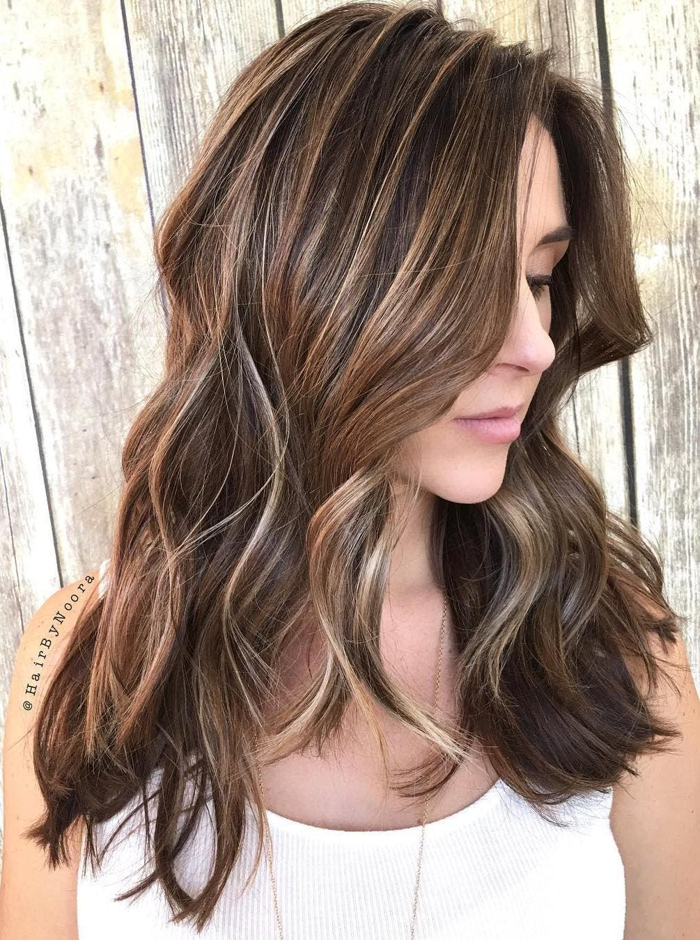 26 Balyajlı Saç Rengi Modelleri 2017