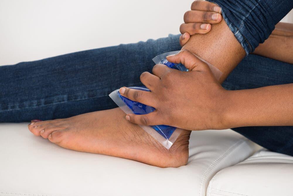 ayak burkulmasi tedavisi