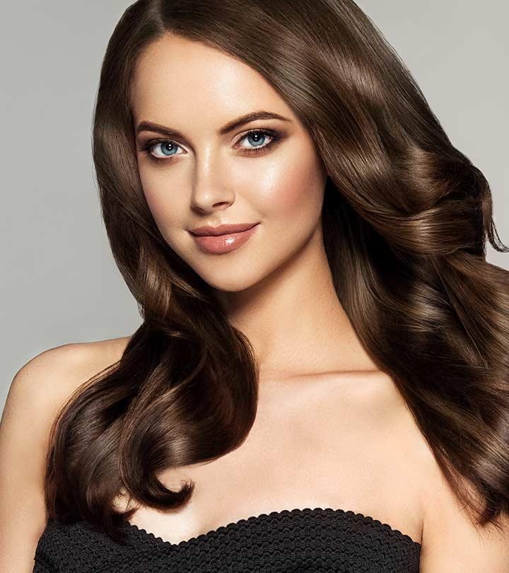 20 Beautiful Winter Hair Color: 20 Muhteşem Kahverengi Saç Rengi