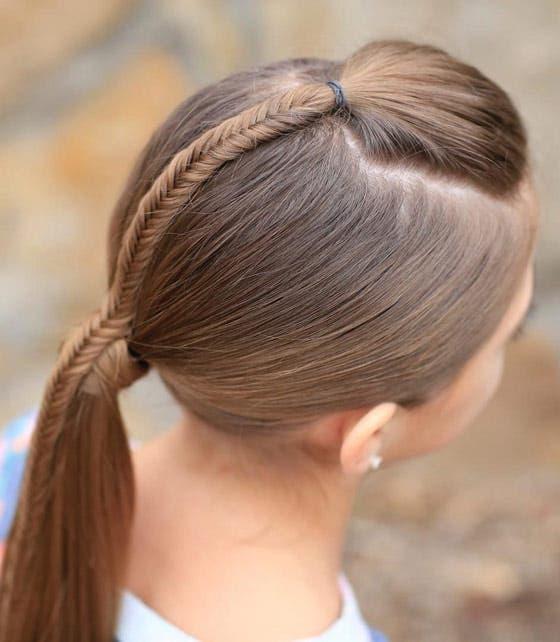 Okula Giden Kız çocukları Için örgü Saç Modelleri Ayşe Tolga Iyi Yaşam