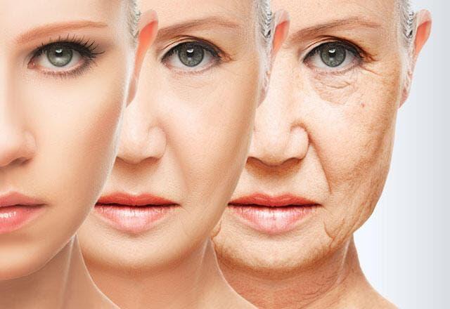 Kuru ve yaşlanmış cild