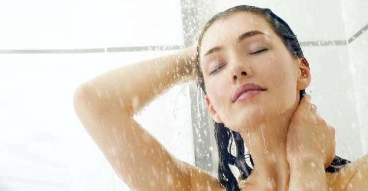 Tuzlu Su ile Duş