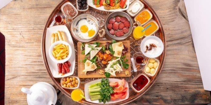 doğal kahvaltı