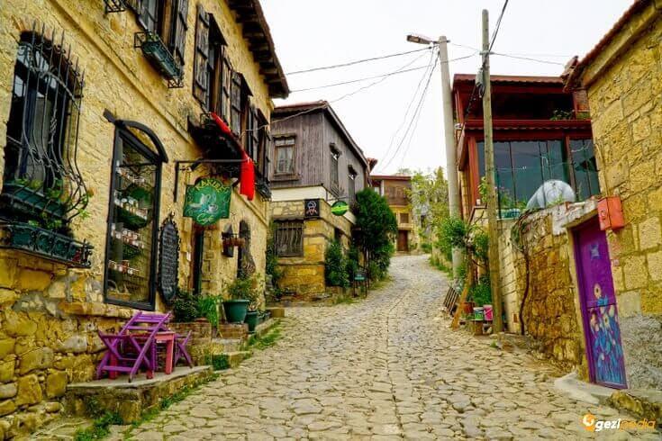 kaz dağları Yeşilyurt Köyü